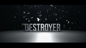 DESTROYER stock footage