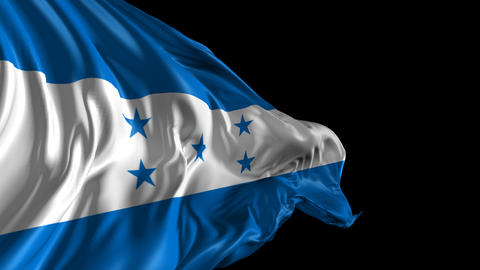 Flag of Honduras Animation