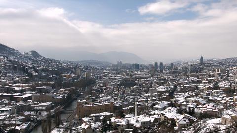 4k Sarajevo, Bosnia and Herzegovina Footage