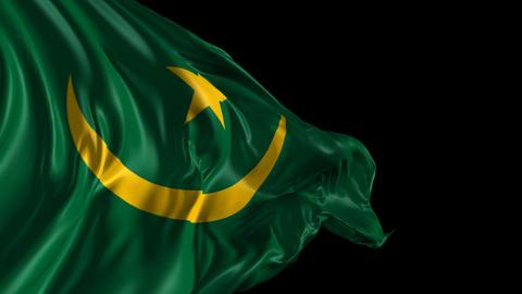 Flag of Mauritania Animation