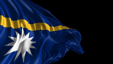 Flag of Nauru Animation