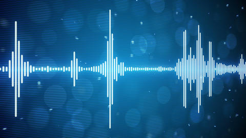 music equalizer seamless loop background 4k (4096x2304) Stock Video Footage