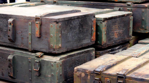Army Weapon Crate Live Action