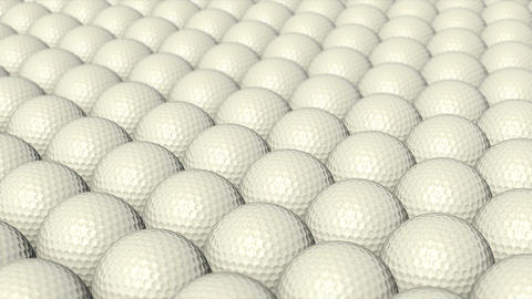Golf balls Animation