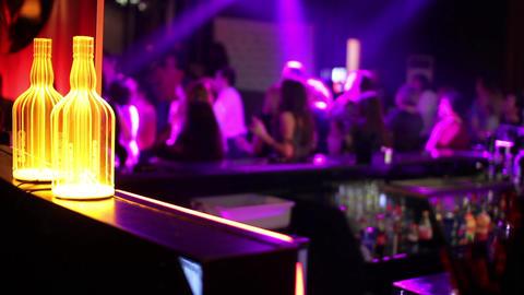 Disco club 01 Footage