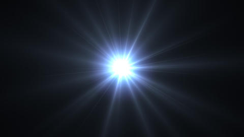OF blue flare Animation