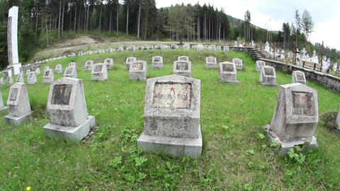 Militar cemetery 14 Footage