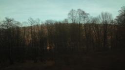 Regard on the train window 61 Footage