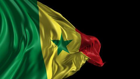 Flag of Senegal Animation