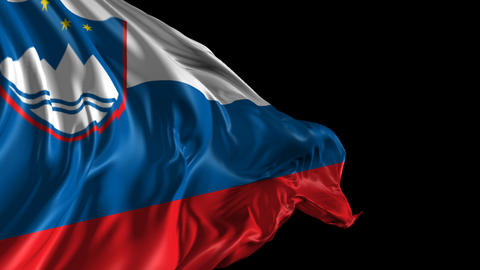 Flag of Slovenia Animation