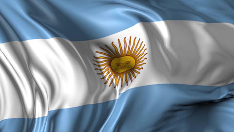 Flag of Argentina Animation
