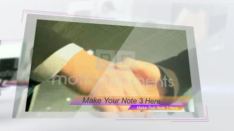 Modern Slides Presentation After Effects Template