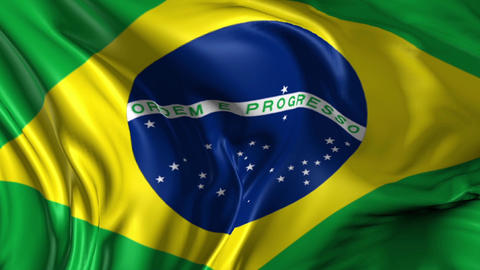 Flag of Brazil Animation