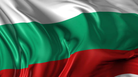 Flag of Bulgaria Animation