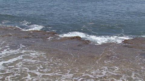 Sea Wave Beach stock footage