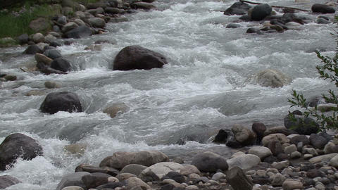 mountain river in the foothills of Mount Elbruselbrus 1 Footage