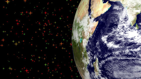 Artificial Earth Satellite stock footage