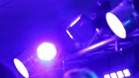 Disco music concert 19d Footage