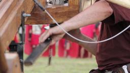 Roman legionaries 72e Footage