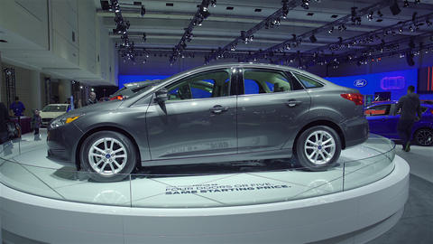 2016 Ford Focus stock footage