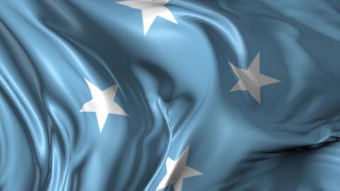 Flag of Micronesia Animation