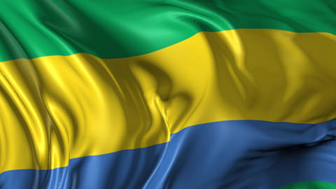 Flag of Gabon Animation