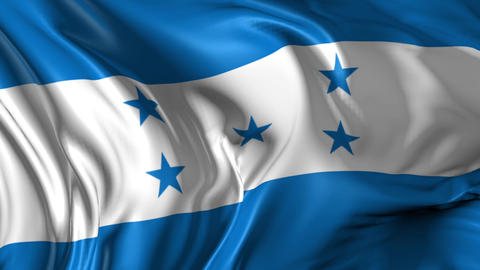Flag of Honduras Animation