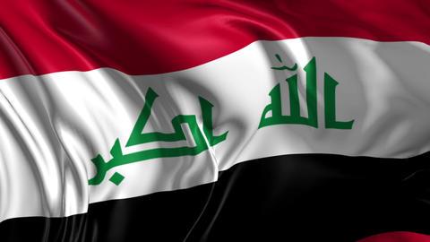 Flag of Iraq Animation