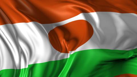 Flag of Niger Animation