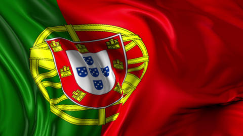 Flag of Portugal Animation