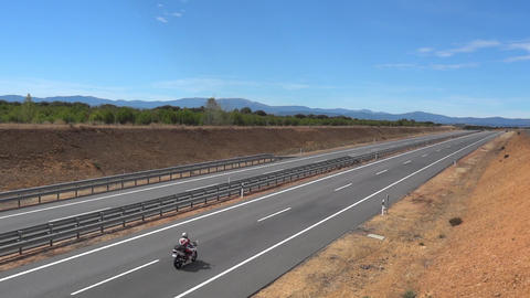 Vehicle traffic on highway 10 Footage