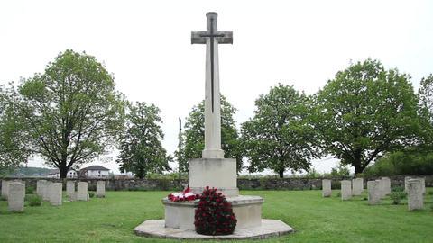 Militar cemetery 30 Footage