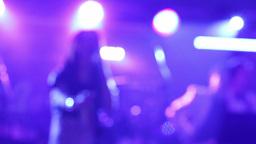 Disco music concert 13d Footage
