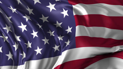 Flag of United States of America Animation
