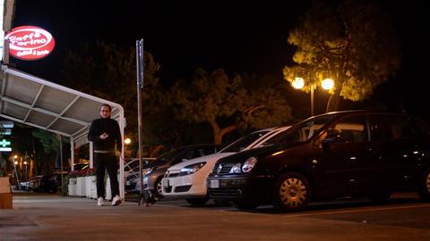 City at night 2588 Footage