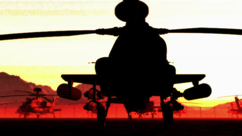 Apaches Base 05 dolly bad signal red Animation
