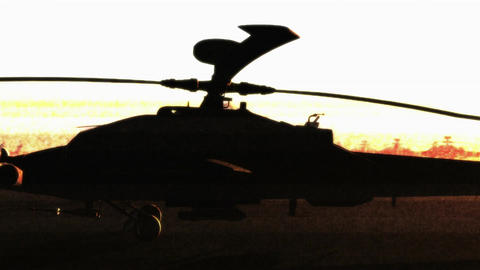 Apaches Base 11 bad signal Stock Video Footage
