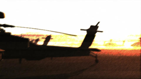 Apaches Base 11 bad signal Animation