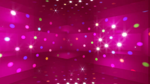 Disco Light RAr c4 HD Stock Video Footage