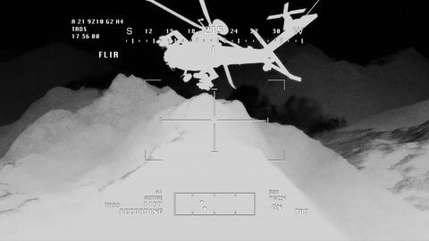 Apaches in Mountains 12 nightvision apache monitor Animation