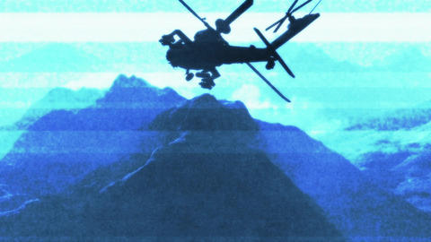 Apaches in Mountains 16 bad signal Animation