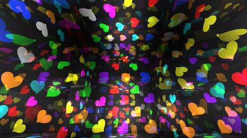 Disco Light RBf h1 HD Stock Video Footage