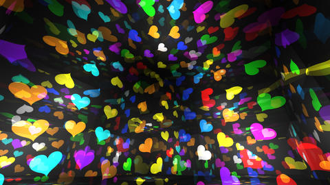 Disco Light RBr h1 HD Stock Video Footage