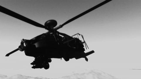 Apaches in Mountains 21 300fps super slow motion bad signal Animation