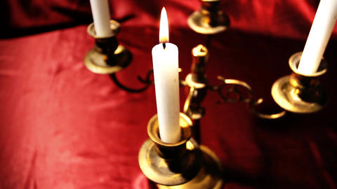 Candles 08 Stock Video Footage