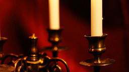 Candles 12 Stock Video Footage