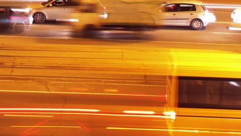 City Traffic Timelapse 03 Stock Video Footage