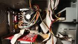 Desktop Computer Inside 18 wideangle Footage