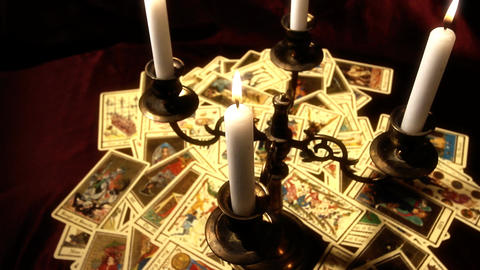 Foreteller Tarot Cards 15 Footage