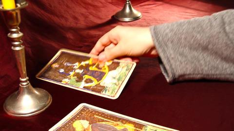 Tarot Cards 05 Stock Video Footage